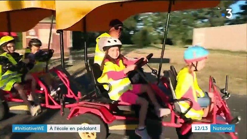 Tarn : la rosalie, un mode de transport scolaire écologique