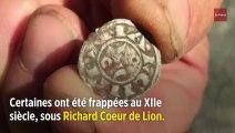 Un trésor de pièces médiévales découvert dans la Creuse