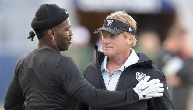 Raiders Release Antonio Brown Before NFL Week 1 Opener