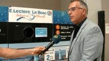 Recyclage des bouteilles en plastique au Centre Leclerc du Bosc