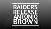 Oakland Raiders release Antonio Brown