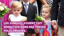 PHOTOS. Jacques et Gabriella, les jumeaux d'Albert et Charlene de Monaco, adorables pour un pique-nique sous la pluie