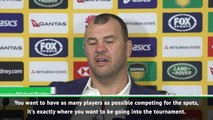 We can't wait for the World Cup to start - Cheika