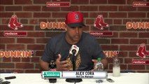 """Amica Press Conference: Alex Cora On Red Sox """"Hunger"""" In 2019"""