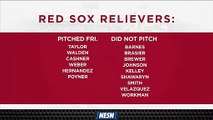 Red Sox Bullpen Is Loaded As Team Opts For Second-Straight Bullpen Game