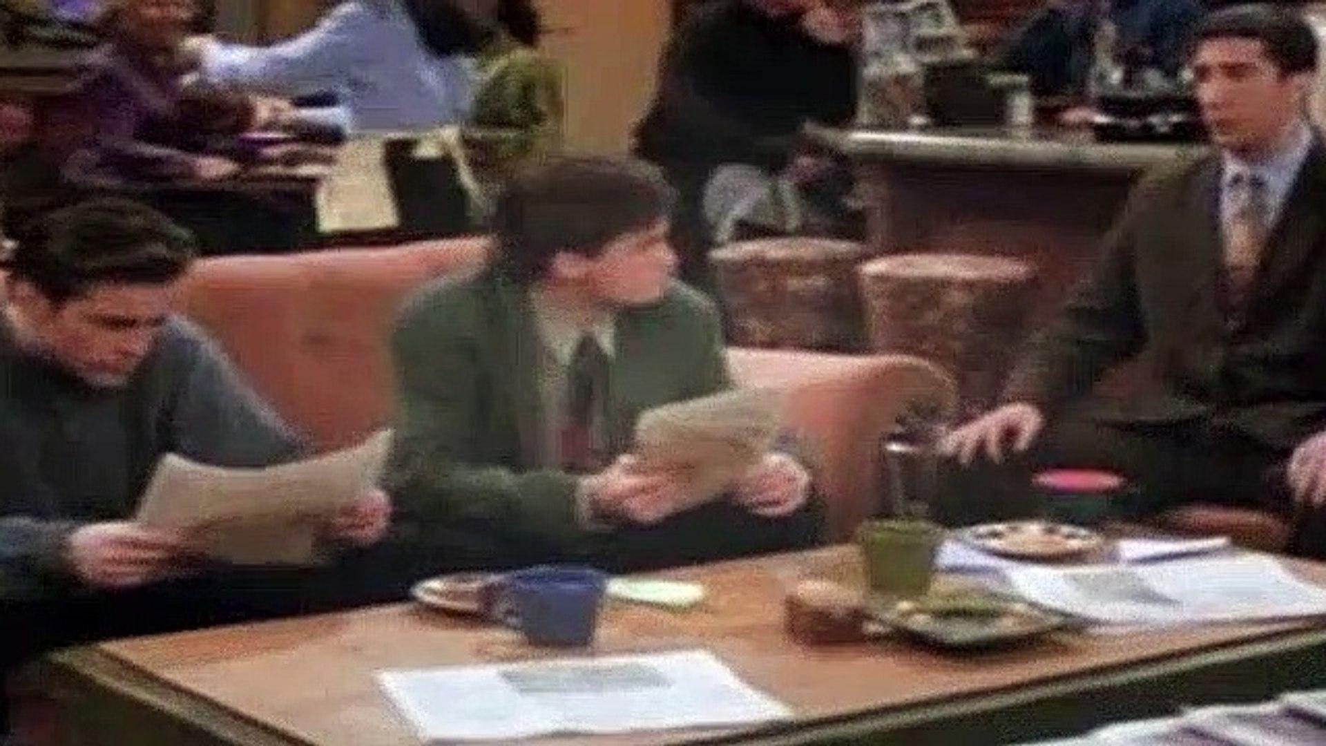 Friends Season 1 Episode 17 The Two Parts (Part 2)