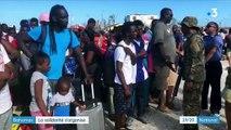 Bahamas : la longue évacuation des sinistrés de l'ouragan Dorian