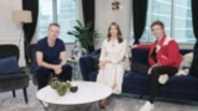 Eddie Redmayne and Felicity Jones on Reuniting for 'The Aeronauts' | TIFF 2019