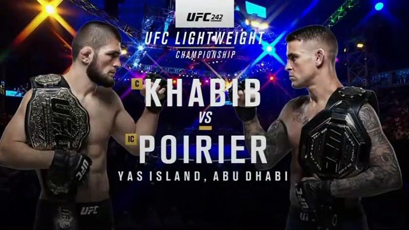 UFC / Khabib Nurmagomedov - Dustin Poirier