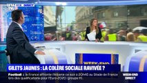 Gilets jaunes: heurts et faible mobilisation