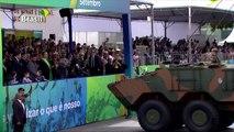 Aplausos y protestas para Bolsonaro en día de la independencia de Brasil