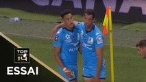TOP 14 - Essai Henry IMMELMAN (MHR) - Montpellier - La Rochelle - J3 - Saison 2019/2020