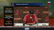 Manager Alex Cora Discusses Team's Approach Vs. Left-Handed Pitchers