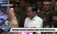 Presiden Jokowi Ajak Keluarga Malam Mingguan di Solo