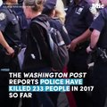 While everyone's distracted by Trump, police-involved deaths are on the rise
