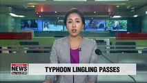 S. Korea reports 3 deaths from Typhoon Lingling; flights resume at airports