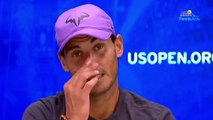 "US Open 2019 - Rafael Nadal : ""It's important for me to be here today after all the complicated moments"""