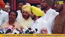 ਨਿਰਉੱਤਰ ਹੋਏ Captain Amrinder Singh has no answer to questions asked by reporters