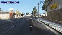 GTA 5 - 'Dando uma volta de moto'