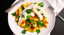 One Pan Fish & Vegetables - Recipe RFHB