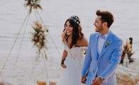 بطلة مسلسل فضيلة وبناتها تتزوج بـ3 فساتين زفاف