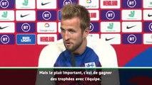 """Angleterre - Kane : """"Le plus important, gagner des trophées avec l'équipe"""""""