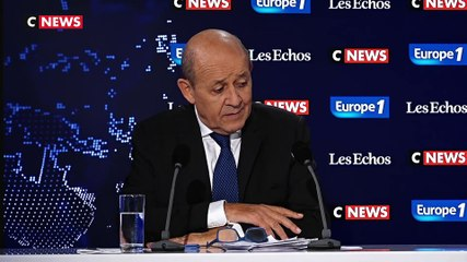 Jean-Yves Le Drian - Europe 1 & CNews dimanche 8 septembre 2019