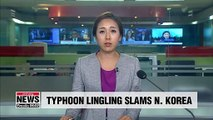 N. Korea scrambles to deal with impact of Typhoon Lingling