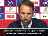 """Angleterre - Southgate : """"Nous pouvons rivaliser avec la France ou le Portugal"""""""