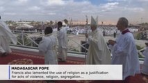 Pope Francis takes aim at corruption as 1 million attend Madagascar mass