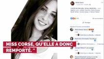 PHOTOS. Miss France 2020 : découvrez Alixia Cauro, qui a été élue Miss Corse 2019