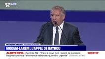"""Municipales: François Bayrou rappelle que """"la légitimité vient de l'ensemble de notre pays"""""""