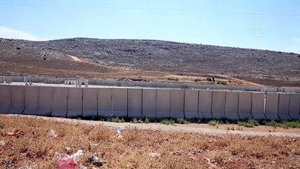 Sınır birliklerine konteyner ve beton blok sevkiyatı - HATAY