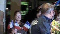 Le XV de France est arrivé au Japon - Rugby - Mondial - Bleus