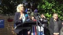 Marine Le Pen à Hénin-Beaumont