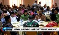 Panglima TNI & Kapolri Dialog Dengan Masyarakat Wamena