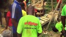 Catégorie U13 de l'ecolé de football tcheuffa sport academy au tournoi de la jeunesse du stade Marion de Douala Cameroun