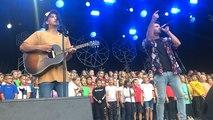 Le groupe Leonie chante avec les enfants de Mouilleron-le-Captif