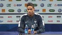 """Bleus - Varane : """"Les jeunes n'ont pas froid aux yeux"""""""