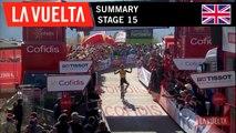 Summary - Stage 15 | La Vuelta 19