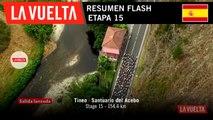 Resumen Flash - Etapa 15 | La Vuelta 19