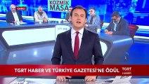TGRT Haber ve Türkiye Gazetesi'ne Ödül