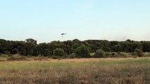 L'helicoptere surveille une dernière fois la zone