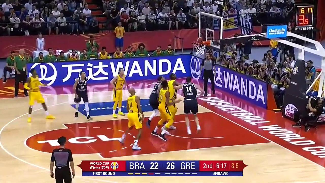 Brazil v Greece – Highlights – FIBA Basketball World Cup 2019