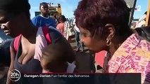 Bahamas : les rescapés de Dorian souhaitent fuir les zones sinistrées