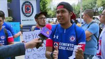 La afición del Cruz Azul ¡No está contenta! | Azteca Deportes
