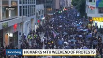 Hong Kong Marks 14th Weekend of Protests