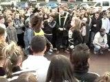 Rassemblement danse electro Cherbourg 02/02/08