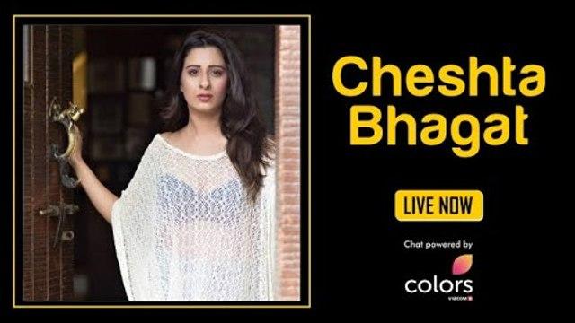 Cheshta Bhagat Live From IWMBuzz