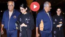 Khushi Kapoor Off To New York For Her Further Studies ||